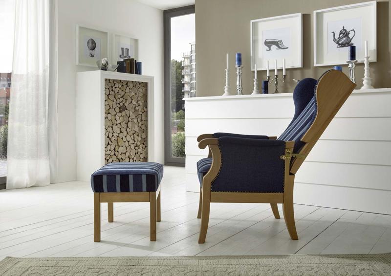 Ostfriesen Sessel Backensessel Modell Luneburg Tischsofa24